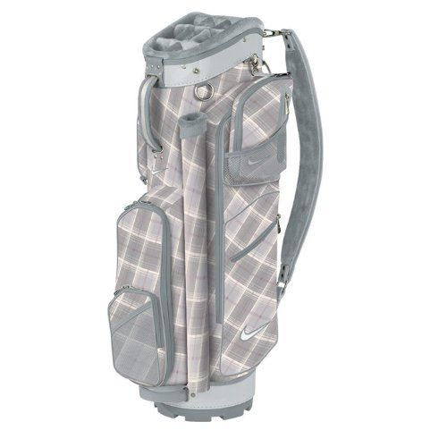Featuring an insulated cooler pocket these womens Brassie II golf cart bags  by Nike provide 9 functional pockets including 7 zipped pockets 9492a21424b28
