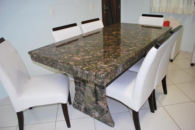Mesa de Cozinha em Granito Verde Marinace | Cozinhas | Pinterest ...