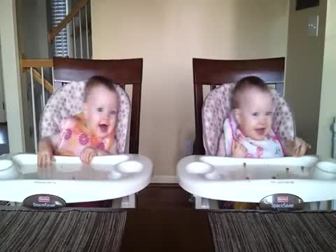 Now this is a video that will steal your heart. Once daddy starts playing guitar, these 11-month-old twins dance away!