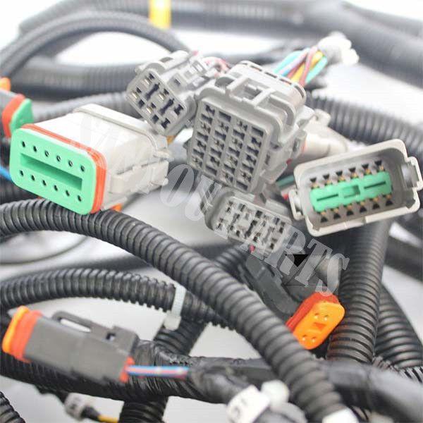 Pc300 6 207 06 61241 Outer Harness Wiring Harness For Komatsu Komatsu Harness Komatsu Excavator