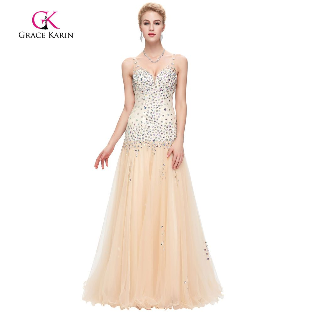 Find more evening dresses information about grace karin mermaid