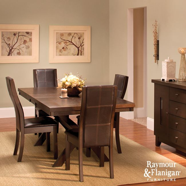 Gibson Dining Room This Dining Set Is Sleek