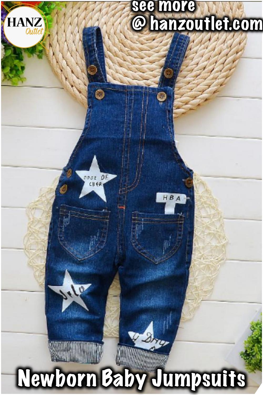 3d44f868b649 Kids Denim Overalls Pentagram jeans clothes newborn baby bebe denim  jumpsuits bib pants for baby boys  Kidsjeans  newbornbabyjeans  babypants   jumpsuits   ...