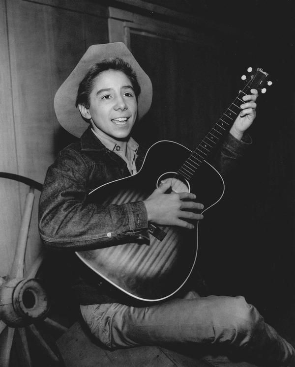 """Johnny Crawford in his """"Rifleman"""" days. He's still going ..."""