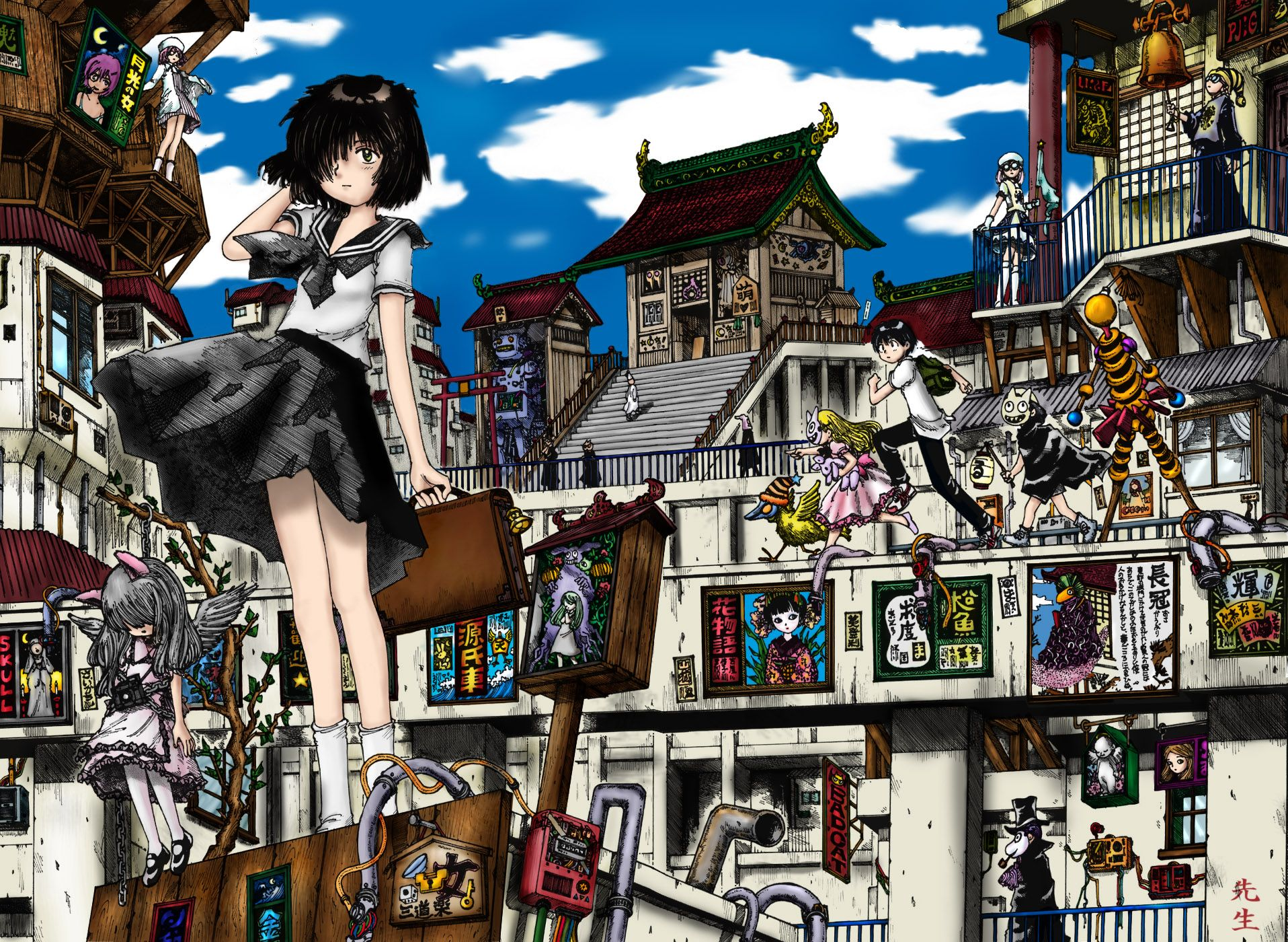 Urabe Mysterious Girlfriend X Anime Worth Watching Mystery Anime Anime Images