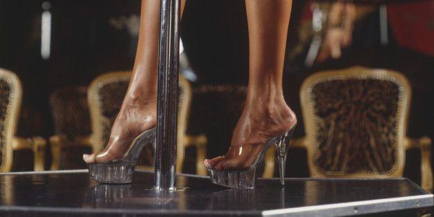 Club glass slipper strip
