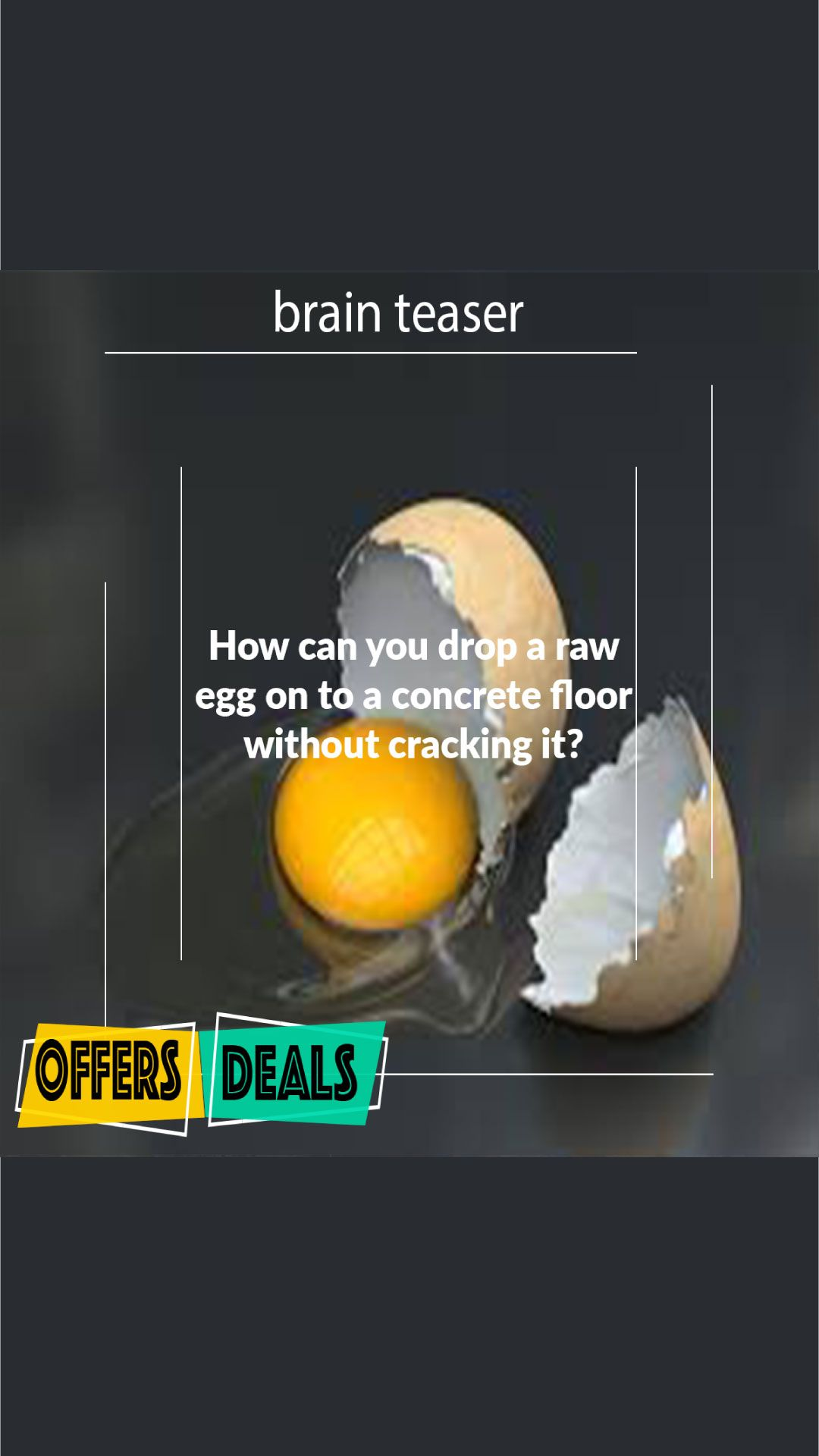 Answer: I Have 6 Eggs Riddle explained - the puzzle