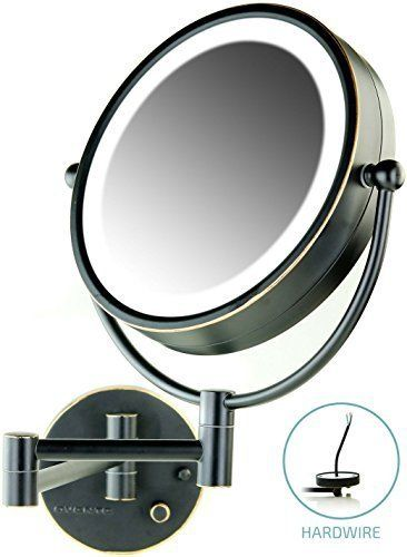Ovente Wall Mount Makeup Mirror Direct Hard Wire 8 5