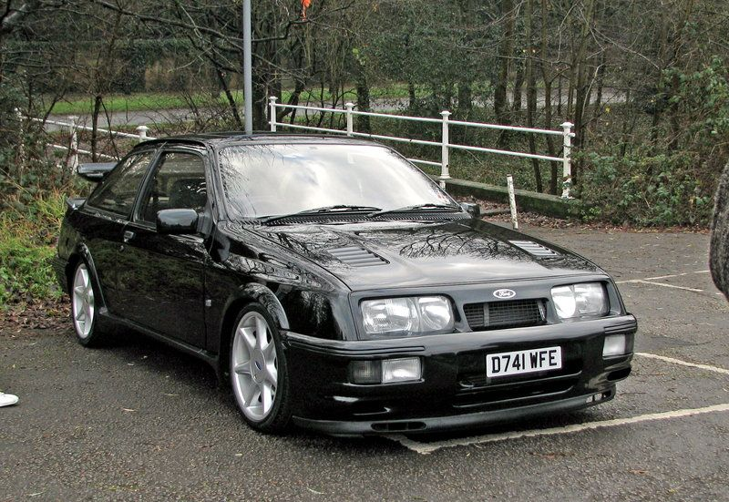 Sierra Cosworth Rs Ford Sierra Ford Classic Cars Ford Rs