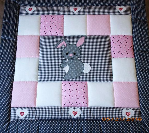 baby blanket quilt decken pinterest babydecken. Black Bedroom Furniture Sets. Home Design Ideas