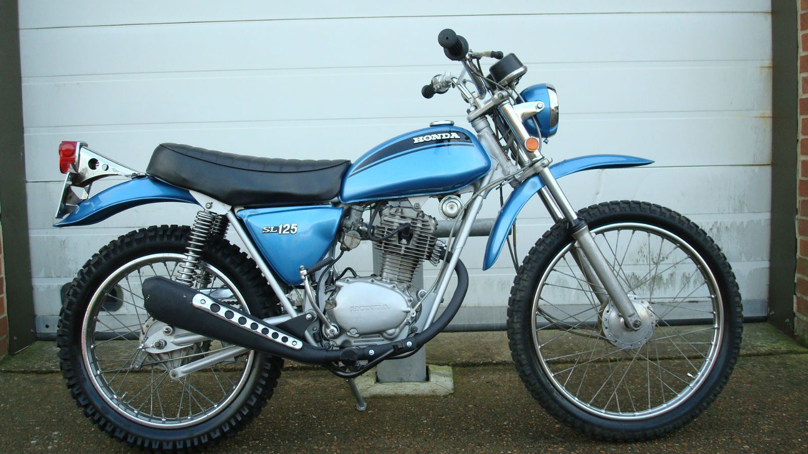 1971 Honda Sl70 I Rode And Wanted One Of These When Was A Kid 1970 Ct70 Sapphire Blue Sl 125 K0 Usa