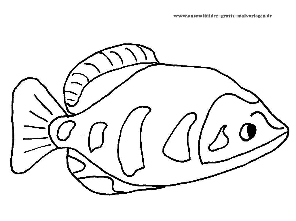 ausmalbilder fische gratis – Ausmalbilder für kinder | ausmalbilder ...