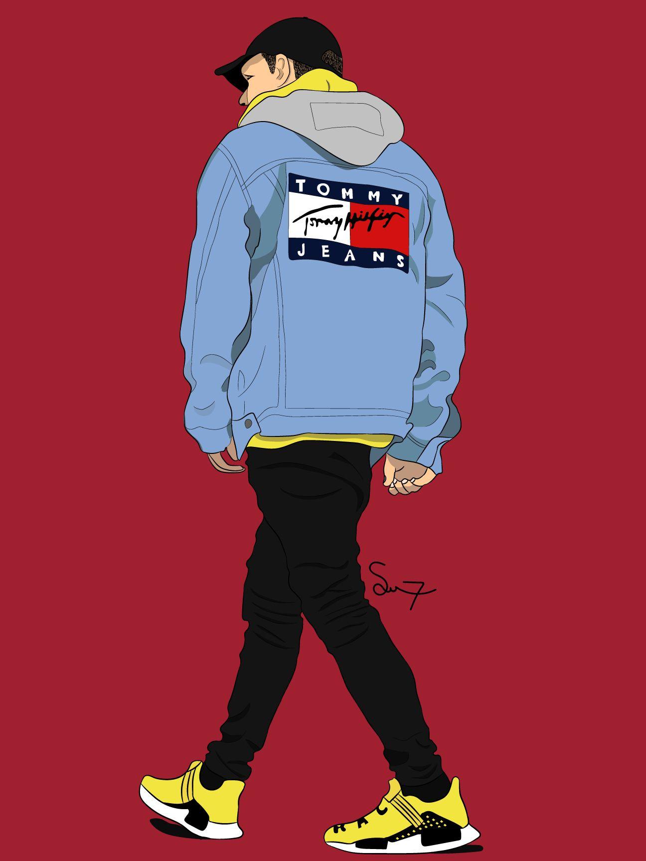 Pin oleh Saifkh99 di Digital drawing Orang animasi