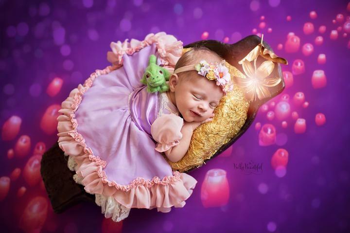 Rae Princess Dress • Rapunzel Style