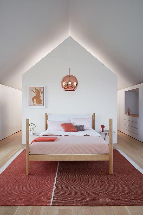 Pillar Bed With Images House Dresser Design Interior Design
