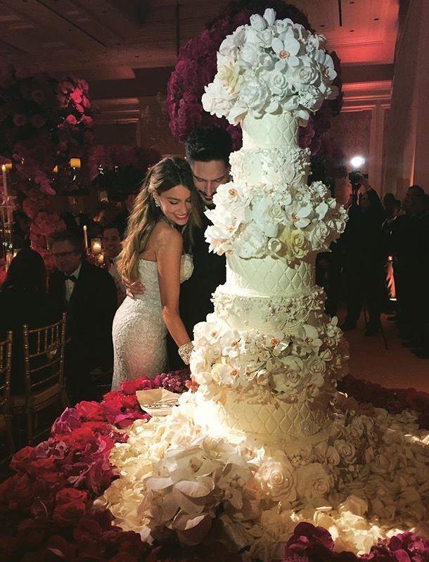 Sofia Vergara Joe Manganiello Sofia Vergara Wedding Glamorous Wedding Sparkly Wedding