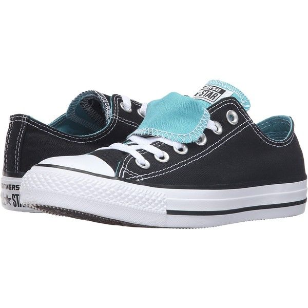 29754fedbf74 Converse Chuck Taylor All Star Double Tongue Color Plus Ox... ( 45) ❤ liked  on Polyvore featuring shoes