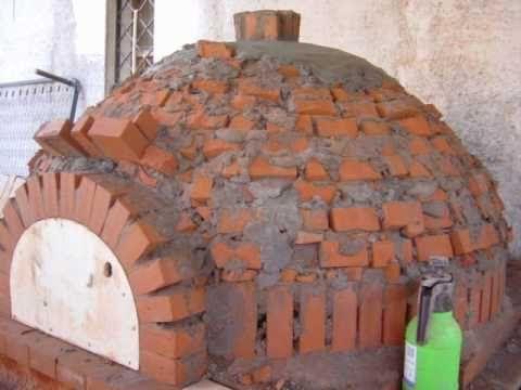 Costruire un forno a legna artigianale massimilianocervo - Bracieri per esterno ...