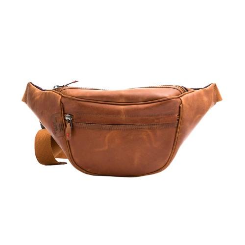 Festival Money Pouch Compartment Travel Bum Bag Waist 6 Zipper Fasten Safety