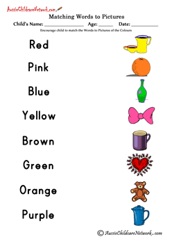 Crayon Color Matching – English & Spanish | A to Z Teacher Stuff ...