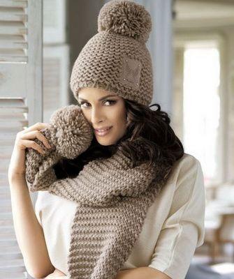 Модные вязаные шапки сезона осень-зима 2016- 2017, фото ...