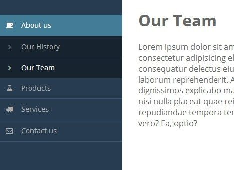 JQuery Vertical Mega Menu Widget WordPress Plugins Pinterest - best of blueprint css menu