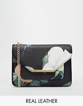 Ted Baker Distinguish Rose Crosshatch Across Body Bag at asos.com