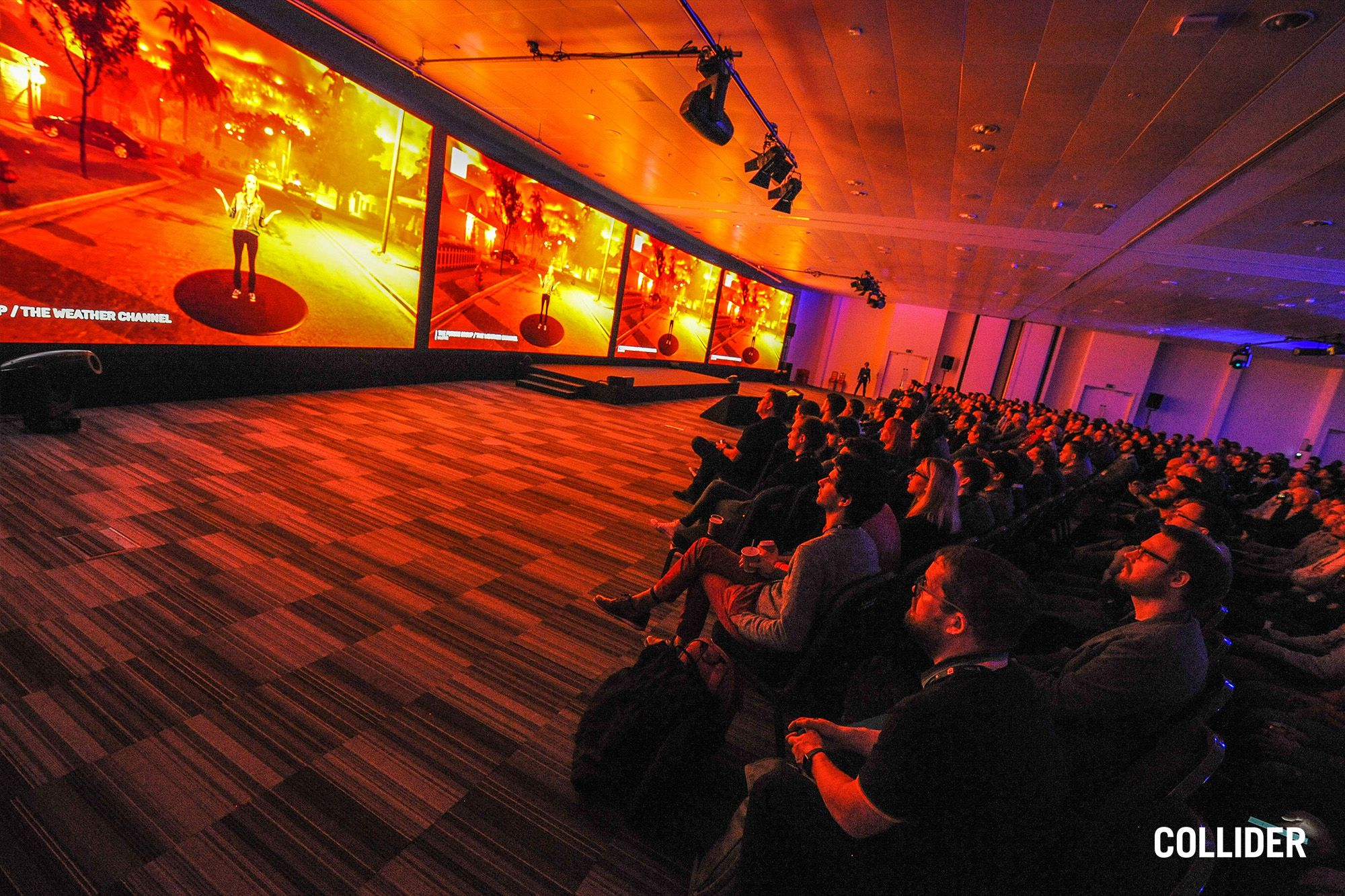 Conference - Collider Event Staging for Unreal Engine for