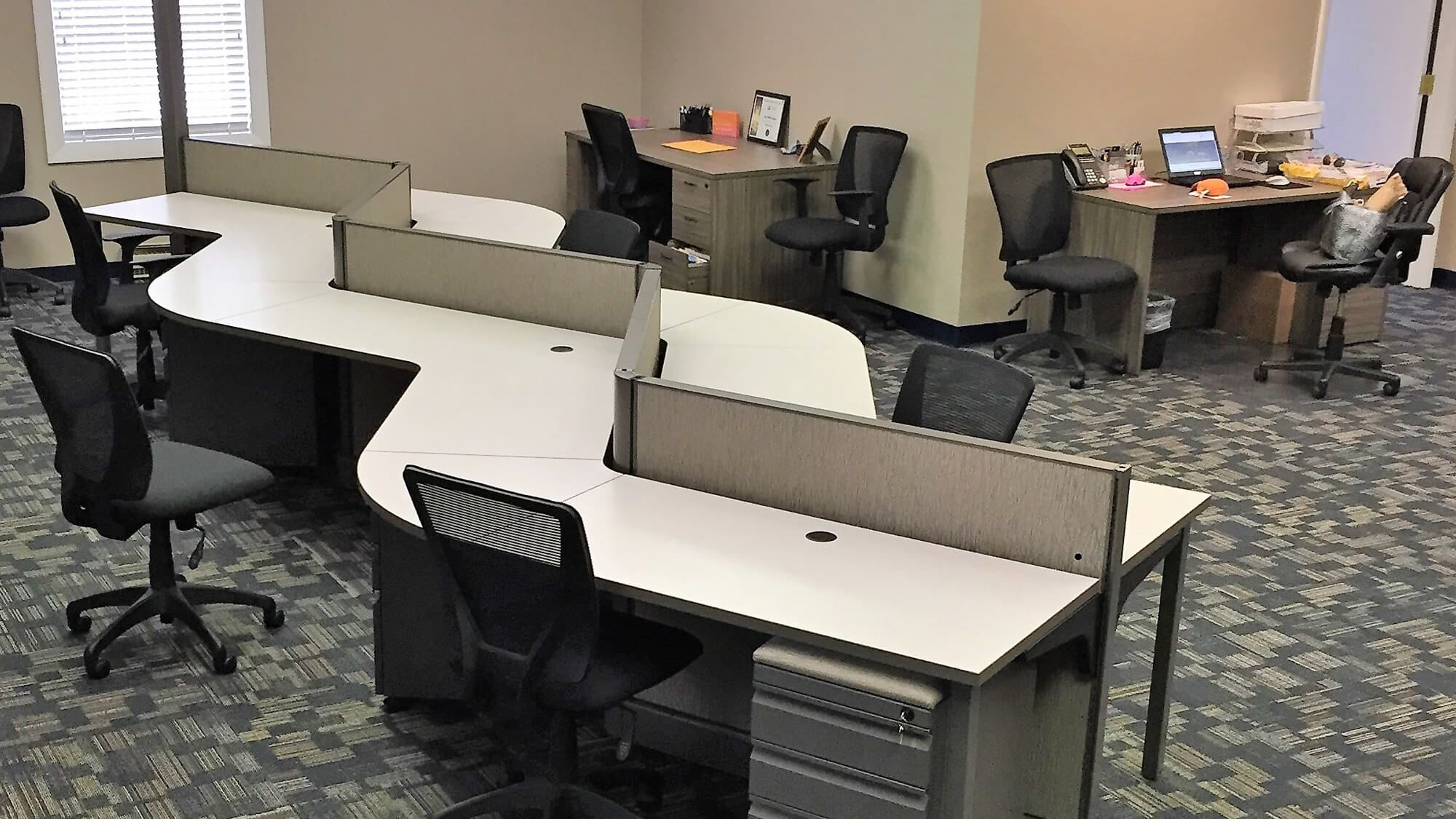 Office Design Furniture Installation In Warwick Ri For Slocum Agency We Can Design Specify Project Manag Office Design Modular Office Furniture Furniture