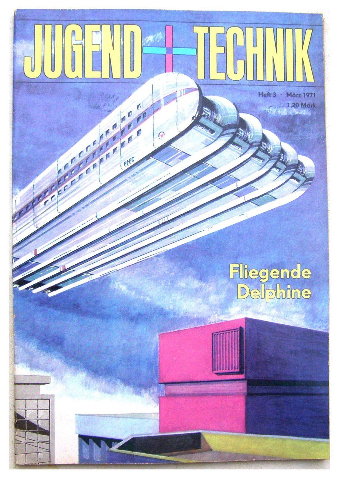 Cover Of Jugend Und Technik Magazine East Germany