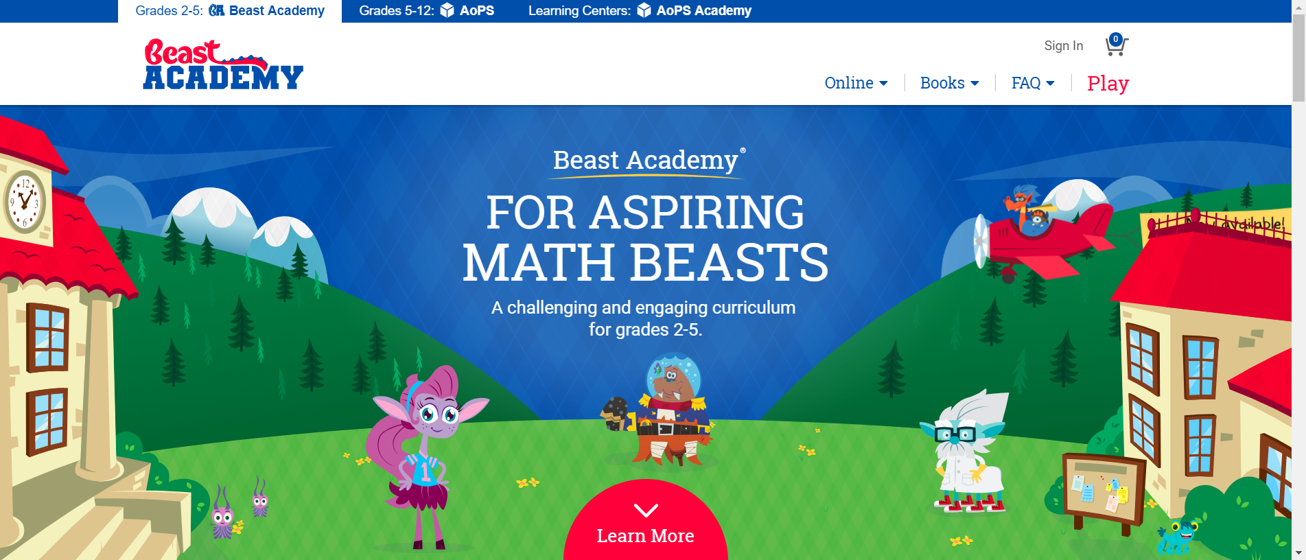 Beast Academy online or books  The Beast Academy book series is a
