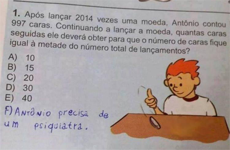 Frases Engraçadas Sobre Provas De Faculdade: Saudades Da Professora De Português Rsrs