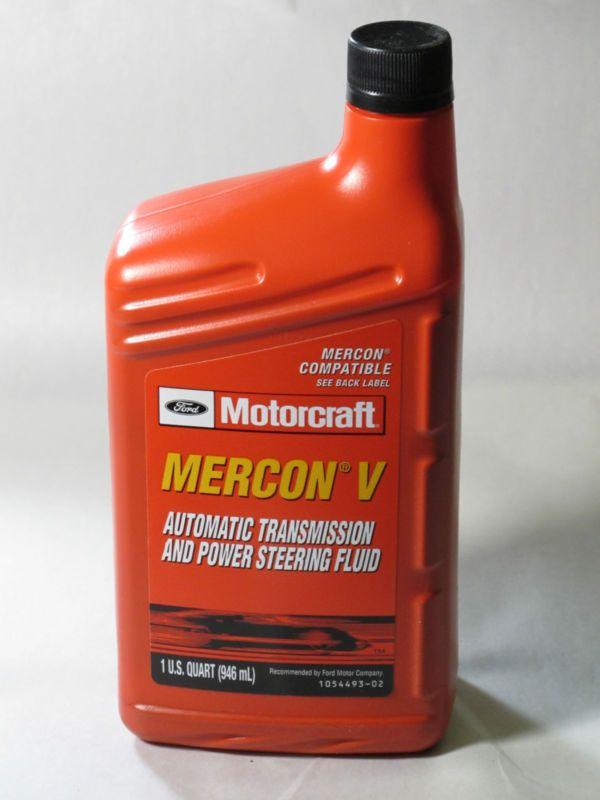 MOTORCRAFT XT5QM MERCON V AUTOMATIC TRANSMISSION AND POWER