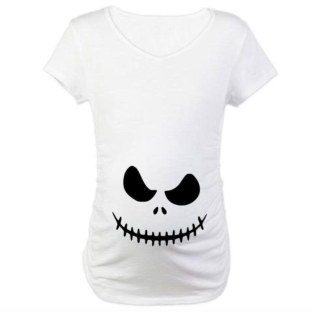 decf68cc12b7b The Nightmare before Christmas Jack Pregnancy Shirt! Halloween pregnancy  shirt! by GameOverBaby on Etsy