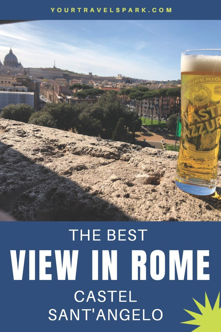Visiting Castel Sant'Angelo in Rome, Italy Visiting Castel Sant'Angelo in Rome, Italy will show you some of the best views in Rome, Italy. You will be able to see Vatican City and River Tiber.