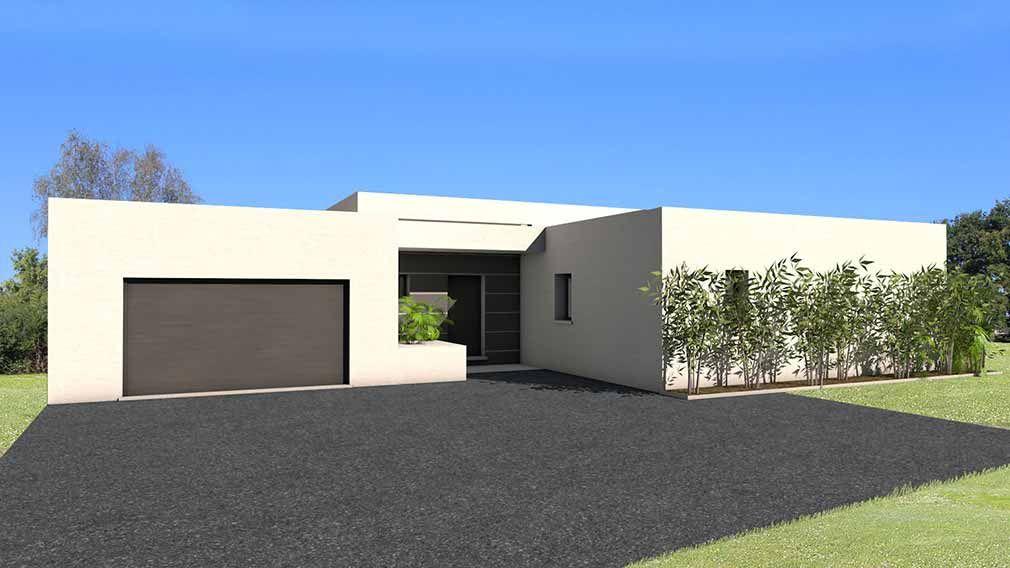 maison contemporaine d 39 architecte b ton bois composite albi d co pinterest maisons. Black Bedroom Furniture Sets. Home Design Ideas