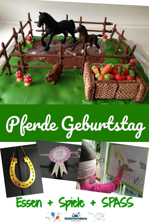 Photo of Pferde Kindergeburtstag Ideen
