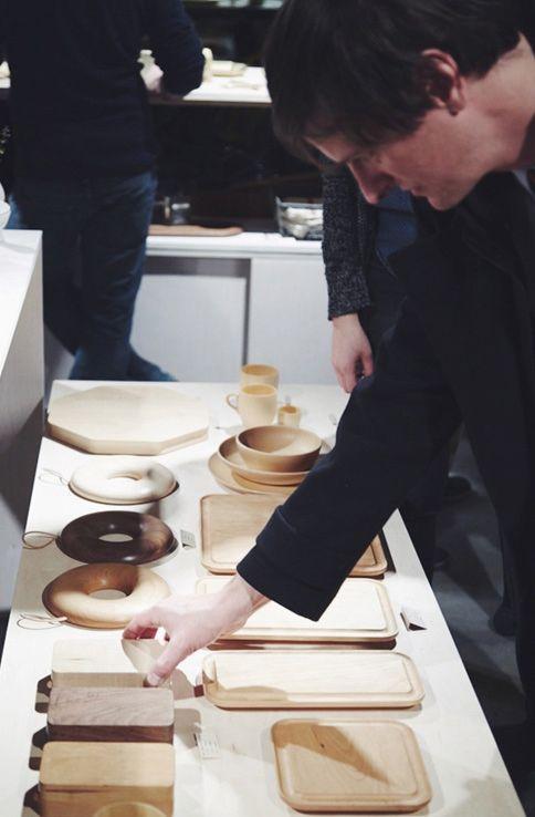 Takahashi Kougei wood tableware - YUKARI Exhibition Opening Recap - Nalata Nalata