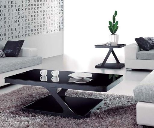 Johannesburg Coffee Table Modern Features: This Ultra-modern Coffee Table Uses Clean Lines To Create
