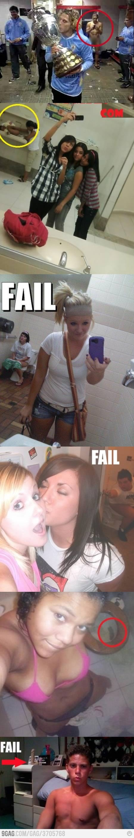 Background fails