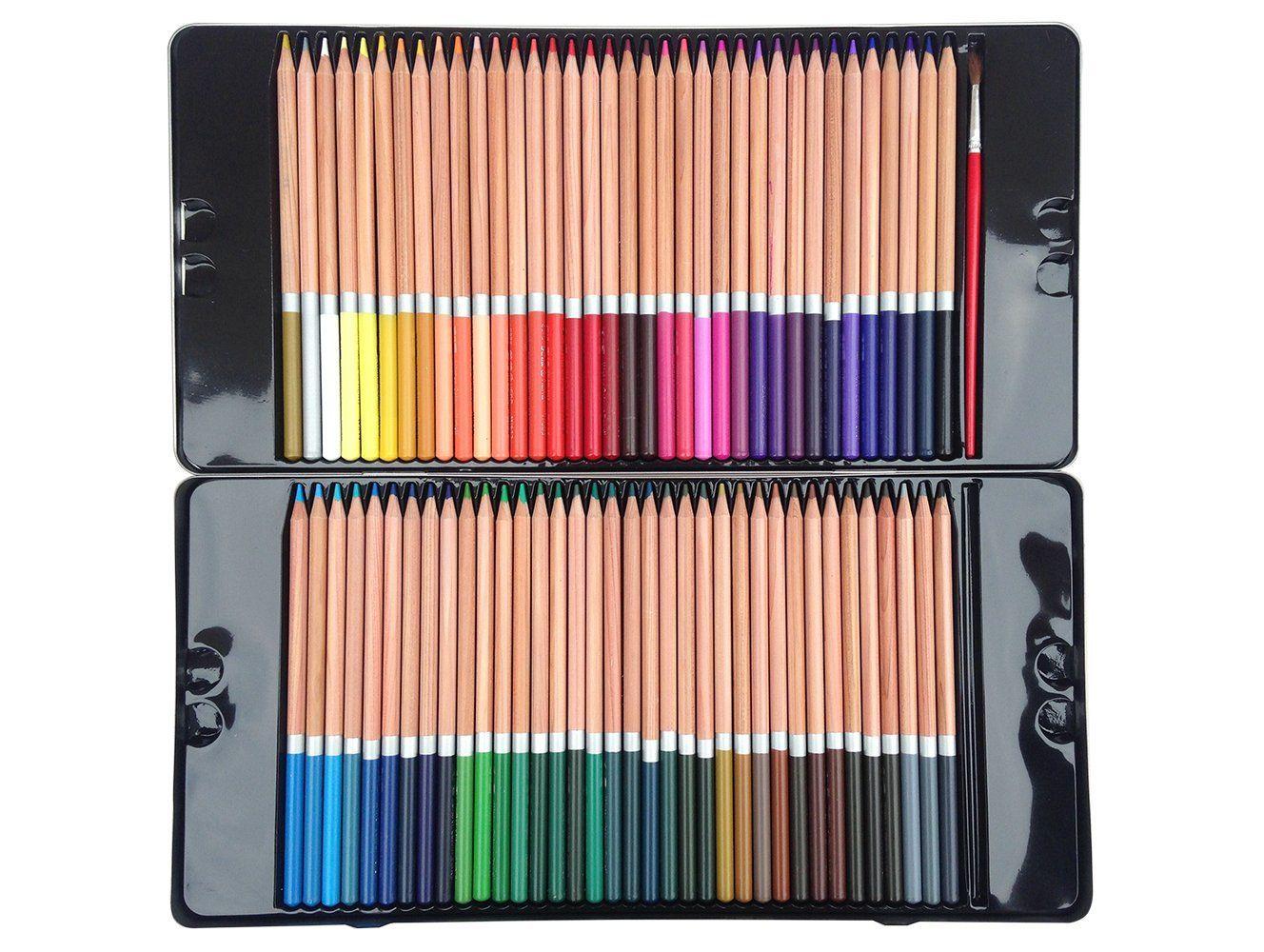 Amazon Com N Green Artist Grade Watercolor Pencils 72 Color