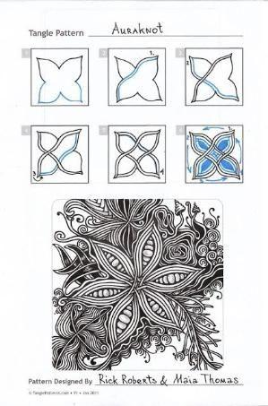 Auraknot: zentangle по butterk | как нарисовать элементы для ...