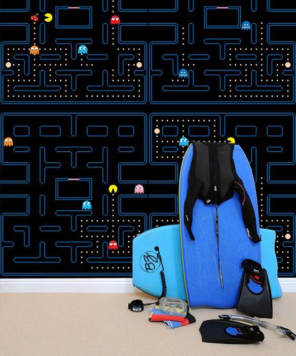 Blik Pac-Man Wall Decals | Home | Pinterest | Wall, Wall ...