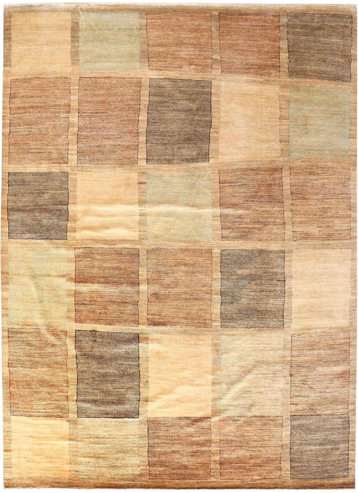 9' 1 x 12' 5 Handknotted Pakistani Wool Gabbeh Carpet Rug