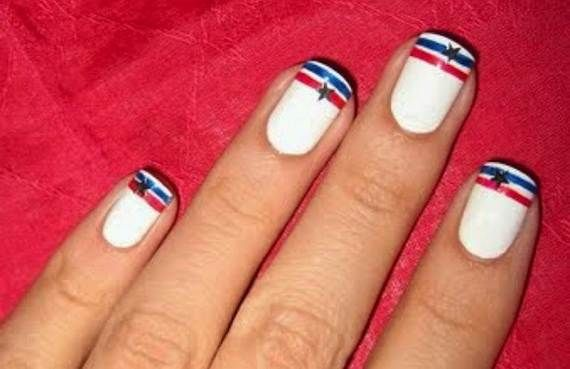 20+ Patriotic Nail Art Designs To Try At Your Fourth Of July Party - 26 Patriotic Nail Art Designs To Try At Your Fourth Of July Party