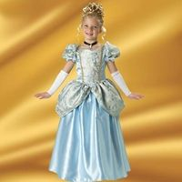 Enchanting Princess Girlu0027s Costume- adorable girls Enchanting Princess costume is a full length satin and brocade ball gown with attached peplum ...  sc 1 st  Pinterest & Enchanting Princess Girlu0027s Costume   Pinterest   Enchanted Costumes ...