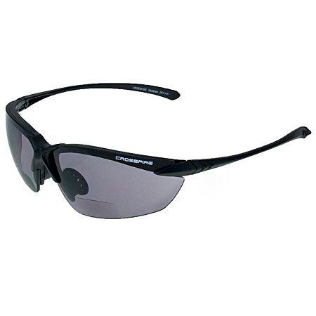 4a3550fed3f5 Crossfire Glasses  92120 Men s Smoked Lens UV ANSI Safety Glasses 92120