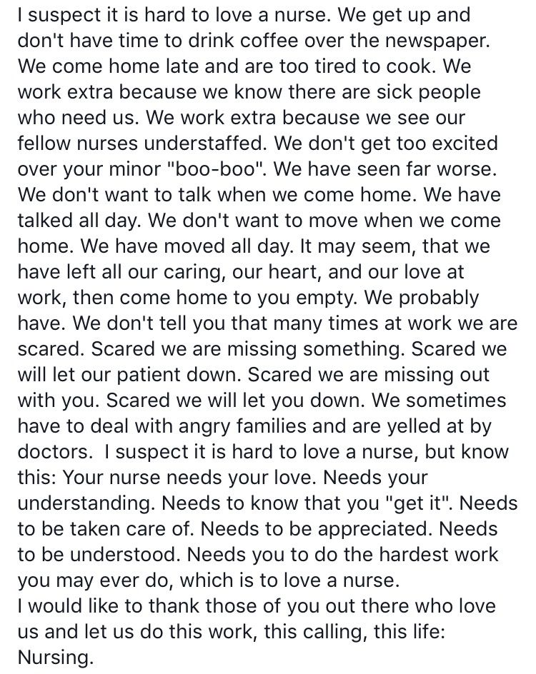 It Is Hard To Love A Nurse Nurse Inspiration Nurse Quotes Inspirational Nurse Quotes