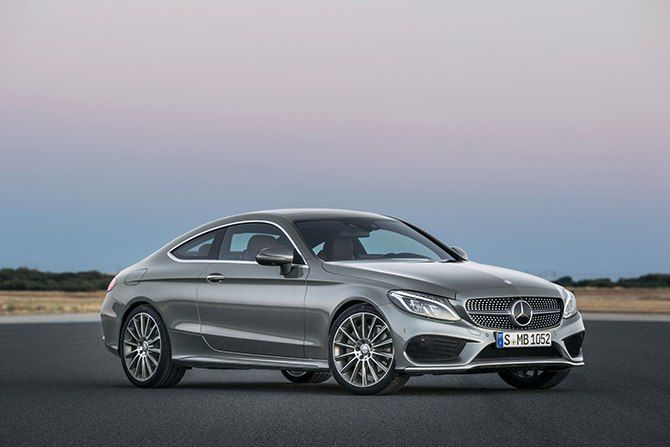 Mercedes Benz Unveils New C Class Coupe 메르세데스 벤츠 메르세데스 스포츠카