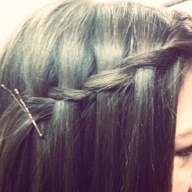 Waterfall twist! Super easy, fast, and cute! Alot of compliments given on this!